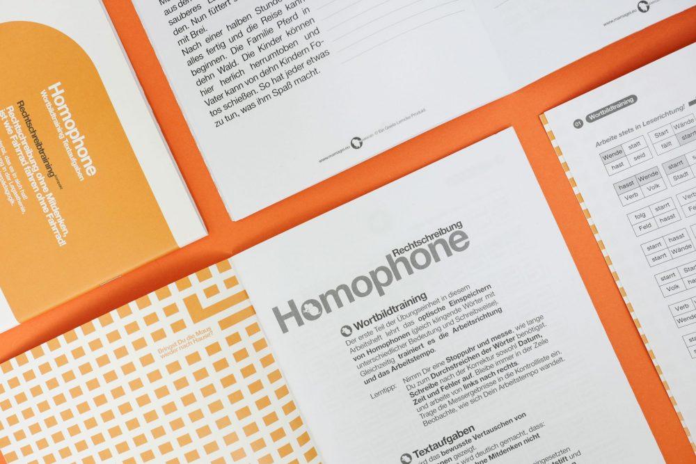 Gleicher Klang // Homophone Lernheft Einführung
