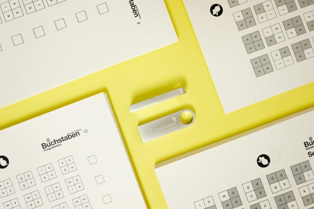 mamagei USB Stick Buchstaben